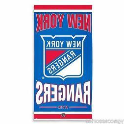 NWT NHL New York Rangers Fiber Reactive 30 X 60 Pool Beach D