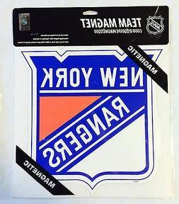 """NY New York Rangers 12"""" Car Truck Office Auto Team Logo Magn"""