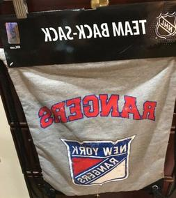 NY New York Rangers Back Pack/Sack Drawstring Bag/Tote NHL b