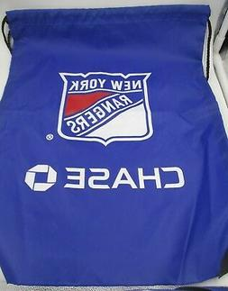 NY New York Rangers Back Pack Sack Drawstring Bag Tote NHL b