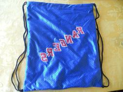 NY New York Rangers Back Pack Sling Sack Drawstring Bag Tote