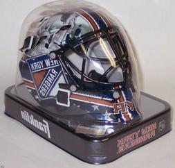 NY New York Rangers Franklin Sports NHL Mini Goalie Mask Hel