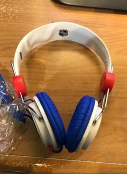Official NHL New York Rangers Hockey Coloud Stereo Headphone