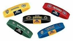 Skootz Officially Licensed NHL Wristbands Unisex Bracelets V