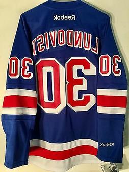 Reebok Premier NHL Jersey New York Rangers Henrik Lundqvist