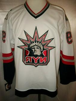 Wayne Gretzky New York Rangers White Liberty Throwback CCM N